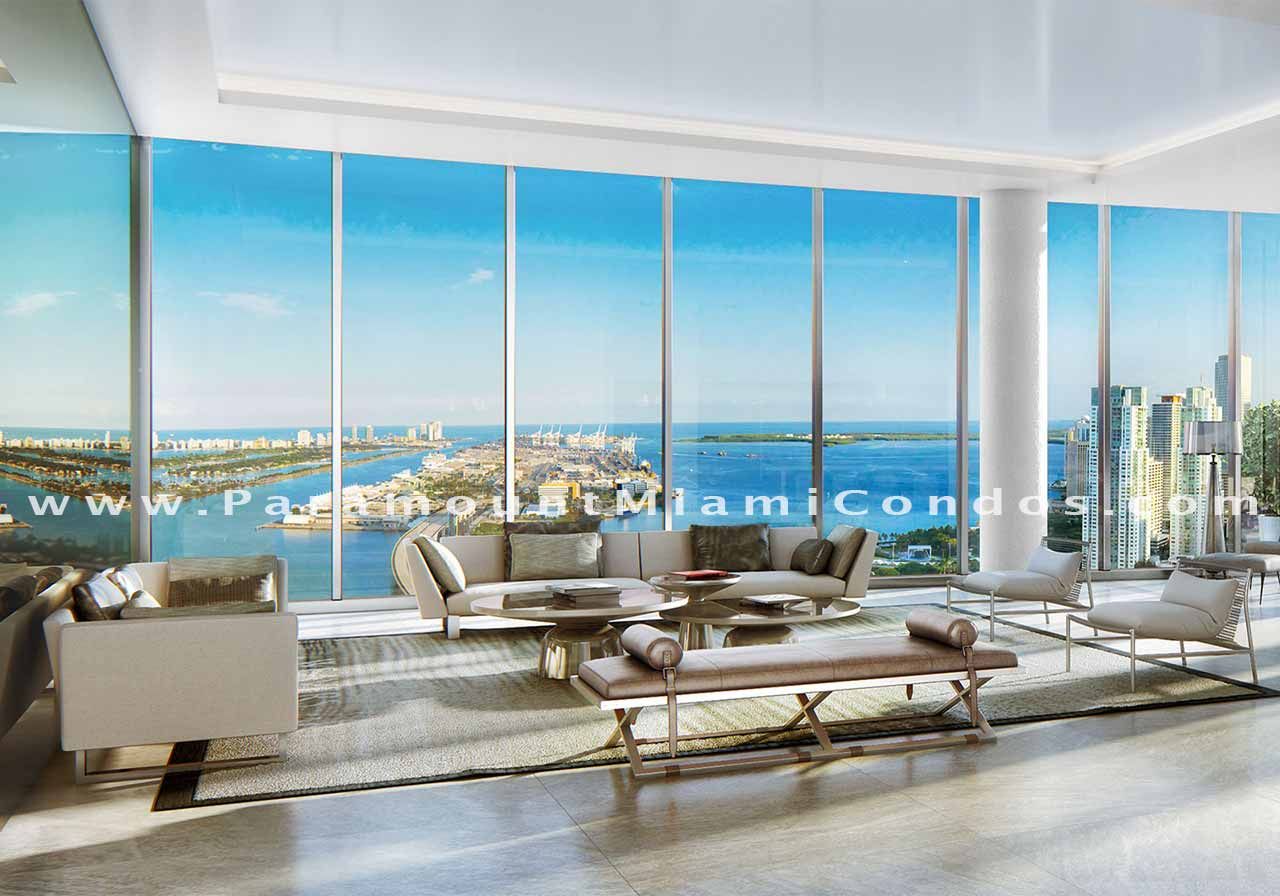 Paramount Miami Worldcenter Penthouses Now Available for