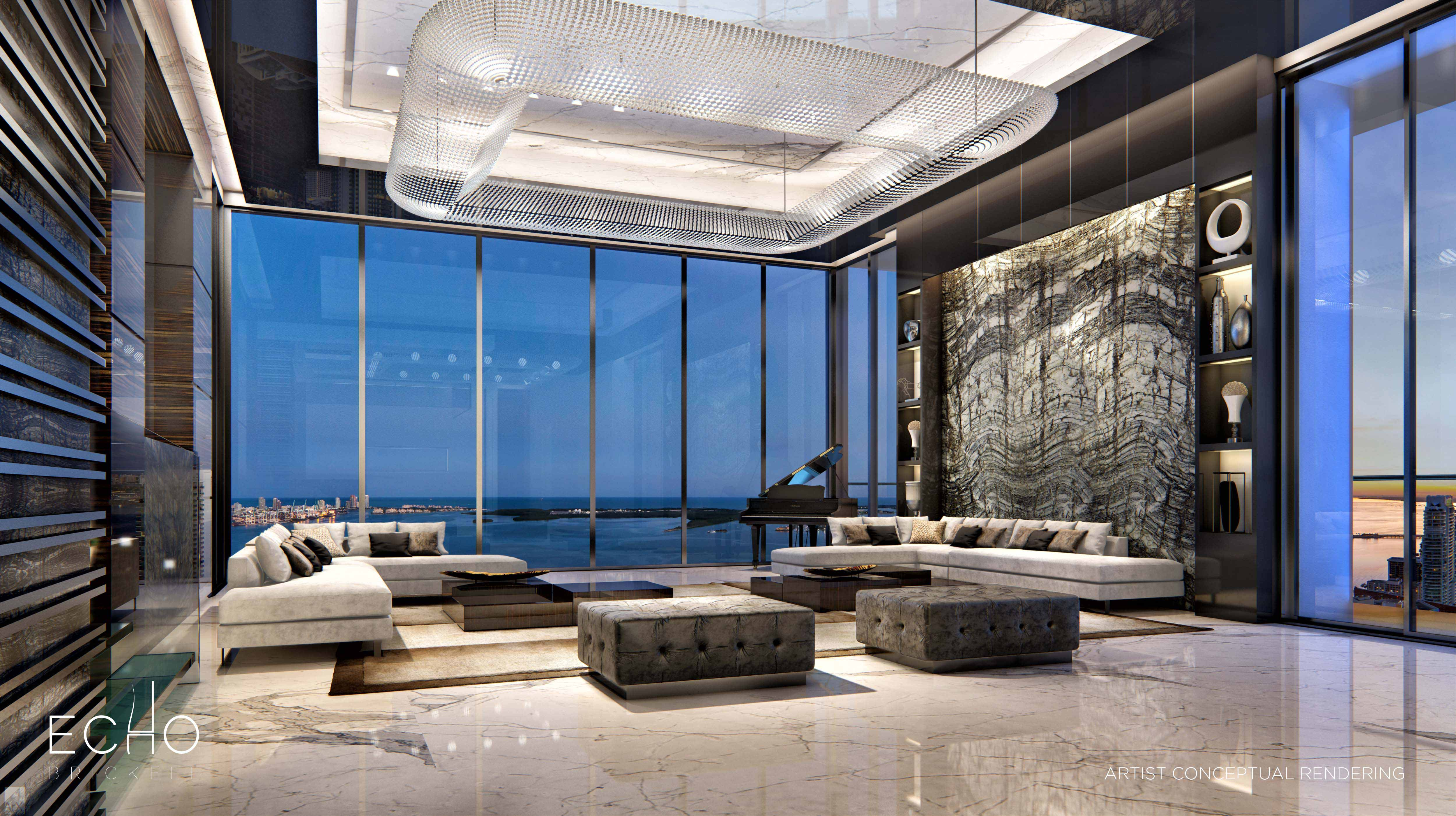 3 Bedroom Condos For Rent Echo Brickell 91 Sold But Exclusive Carlos Ott Penthouse