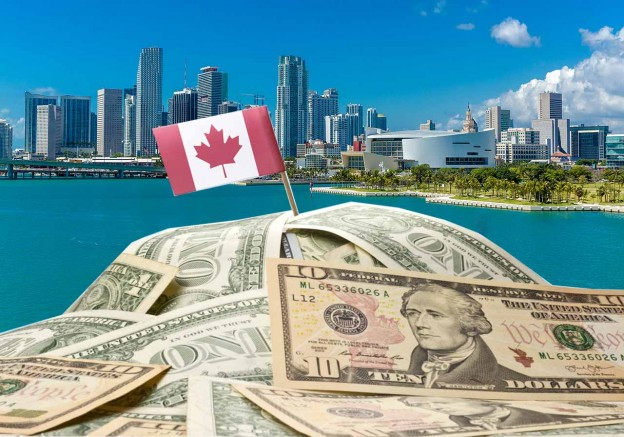Canadian Dollar Versus U.S. Dollar - Condo Investments in Miami