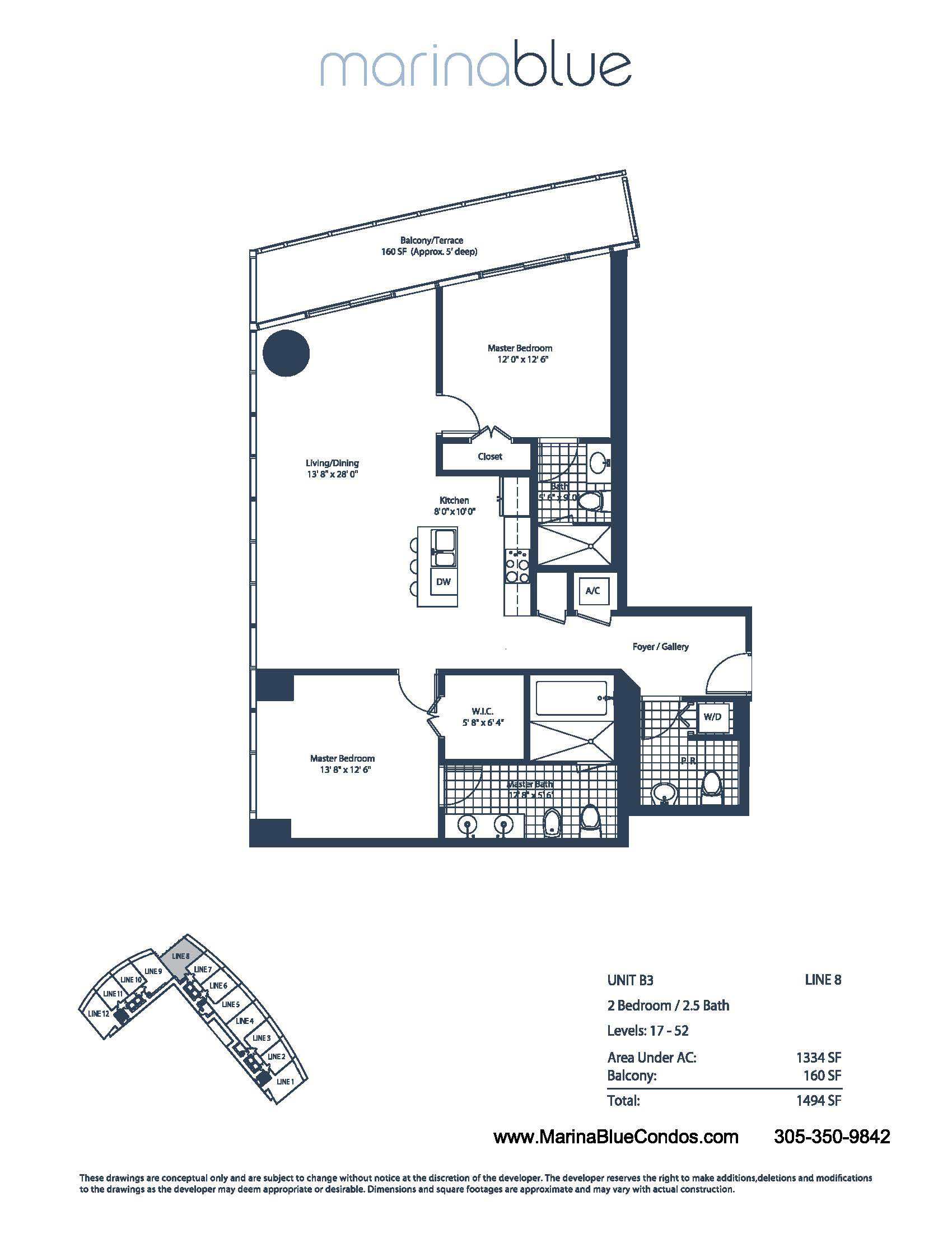 just sold marina blue unit 2508 in downtown miami