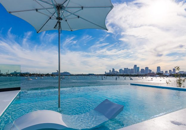 Venetian Islands Estate Boasts Hautest LAST Rooftop Pool In Miami