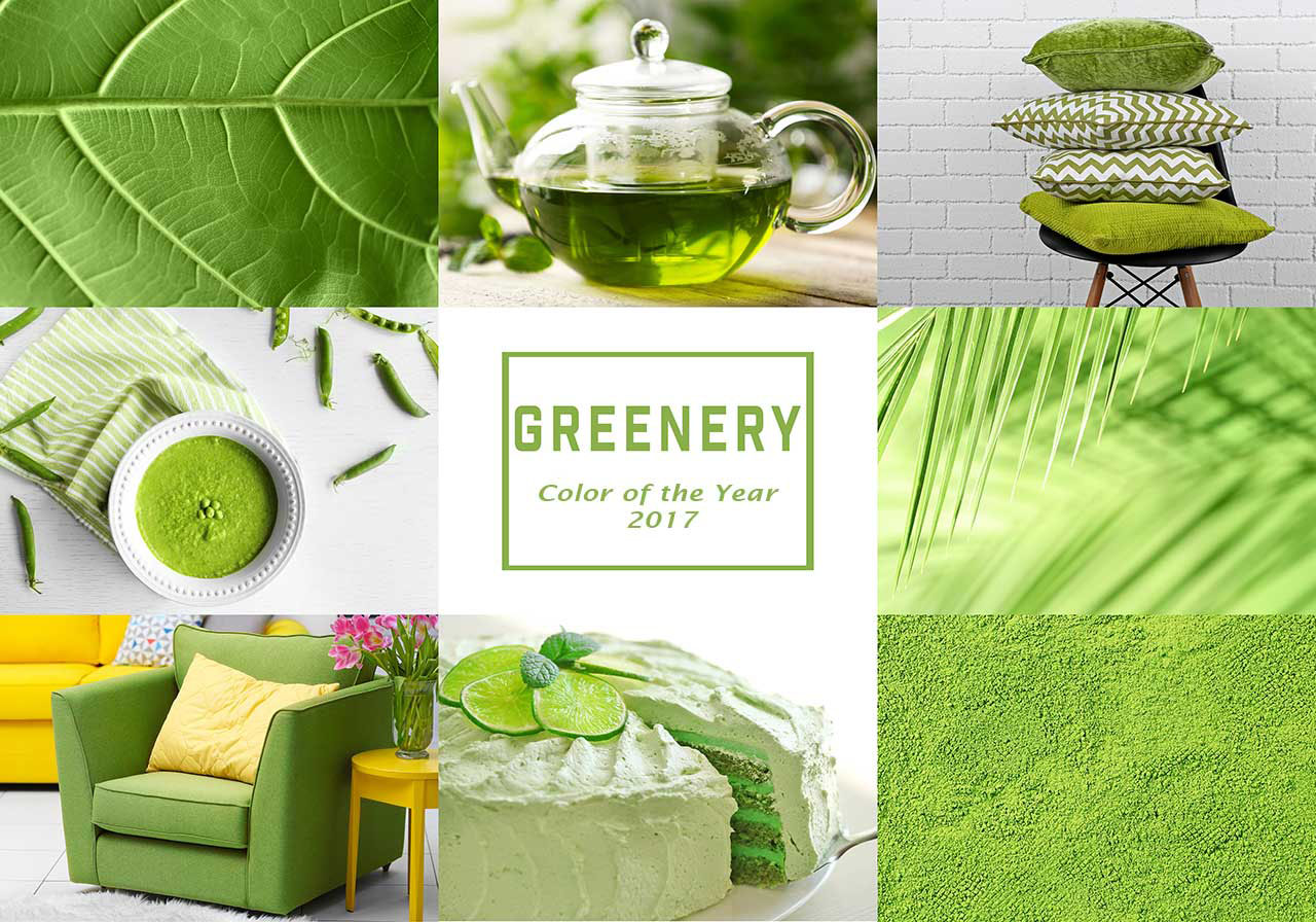 Greenery is the 2017 Pantone Color of the Year