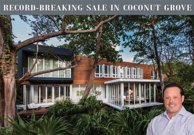3503 Banyan Circle Shatters 2 Coconut Grove Real Estate Records