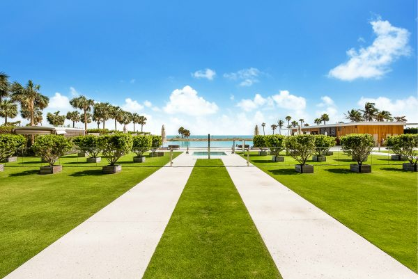 Oceana Key Biscayne Manicured Grounds