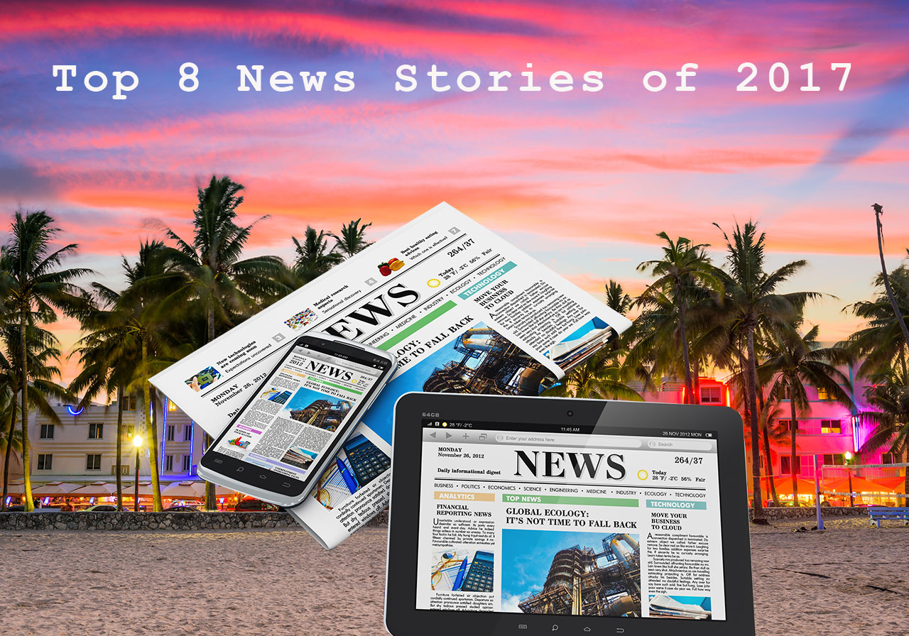 Top 8 News Stories of 2017