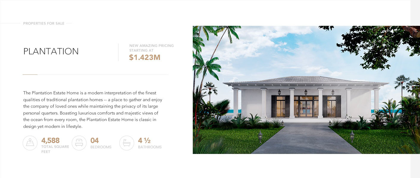 Rockwell Island Luxury Homes - Plantation Estate