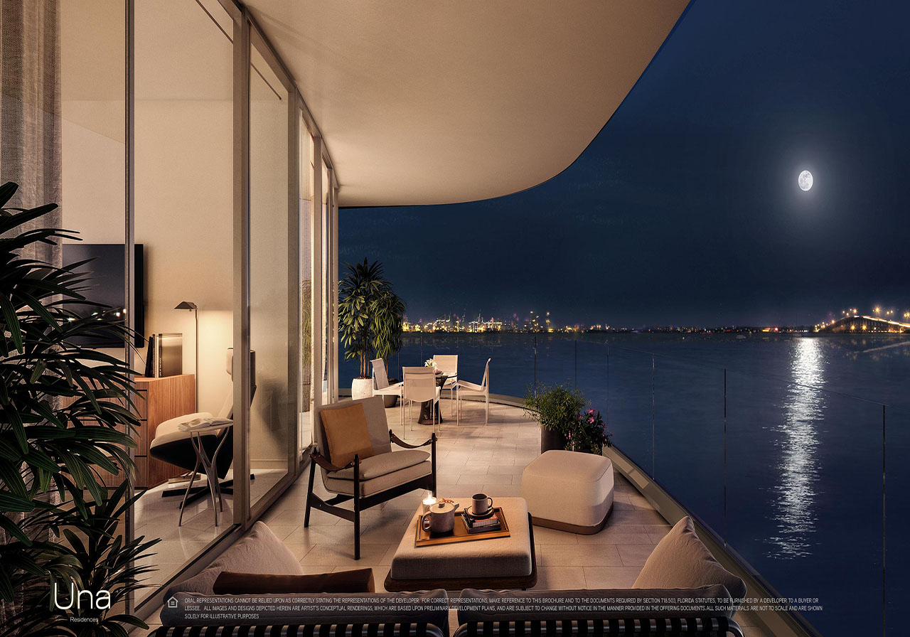 Una Residences Brickell Terrace Rendering