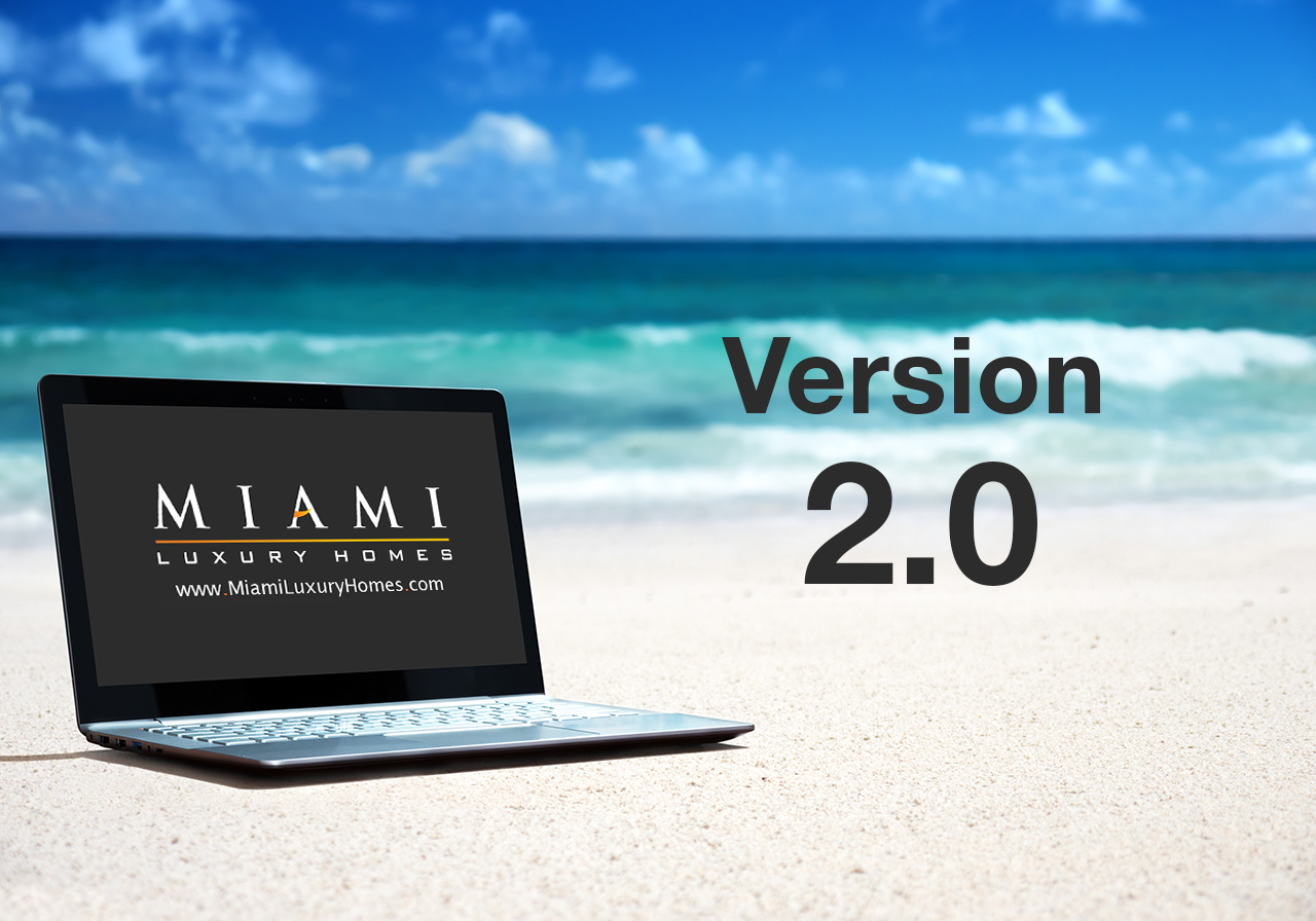 Miami Luxury Homes Website Version 2.0