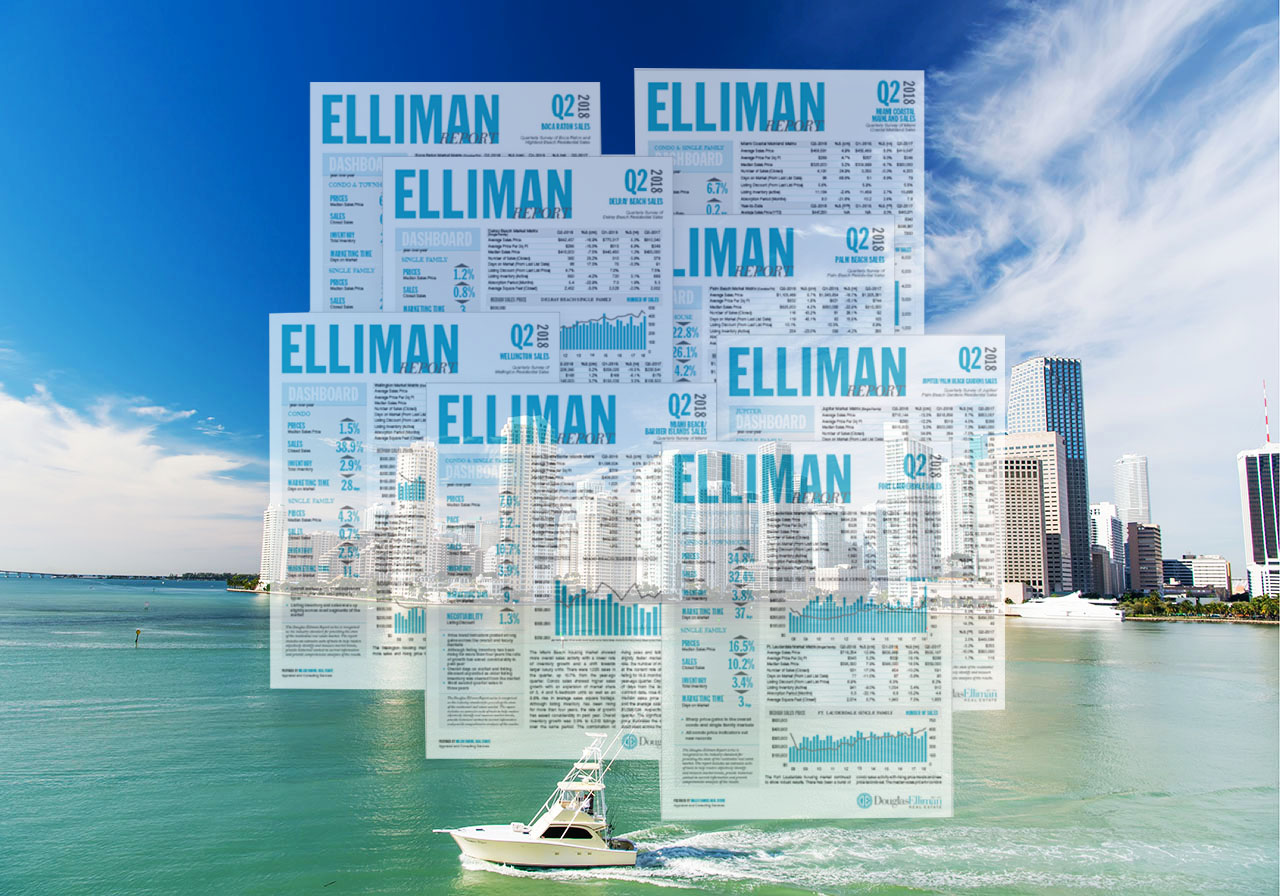 Douglas Elliman Real Estate Q2 2018 Miami and Miami Beach Market
