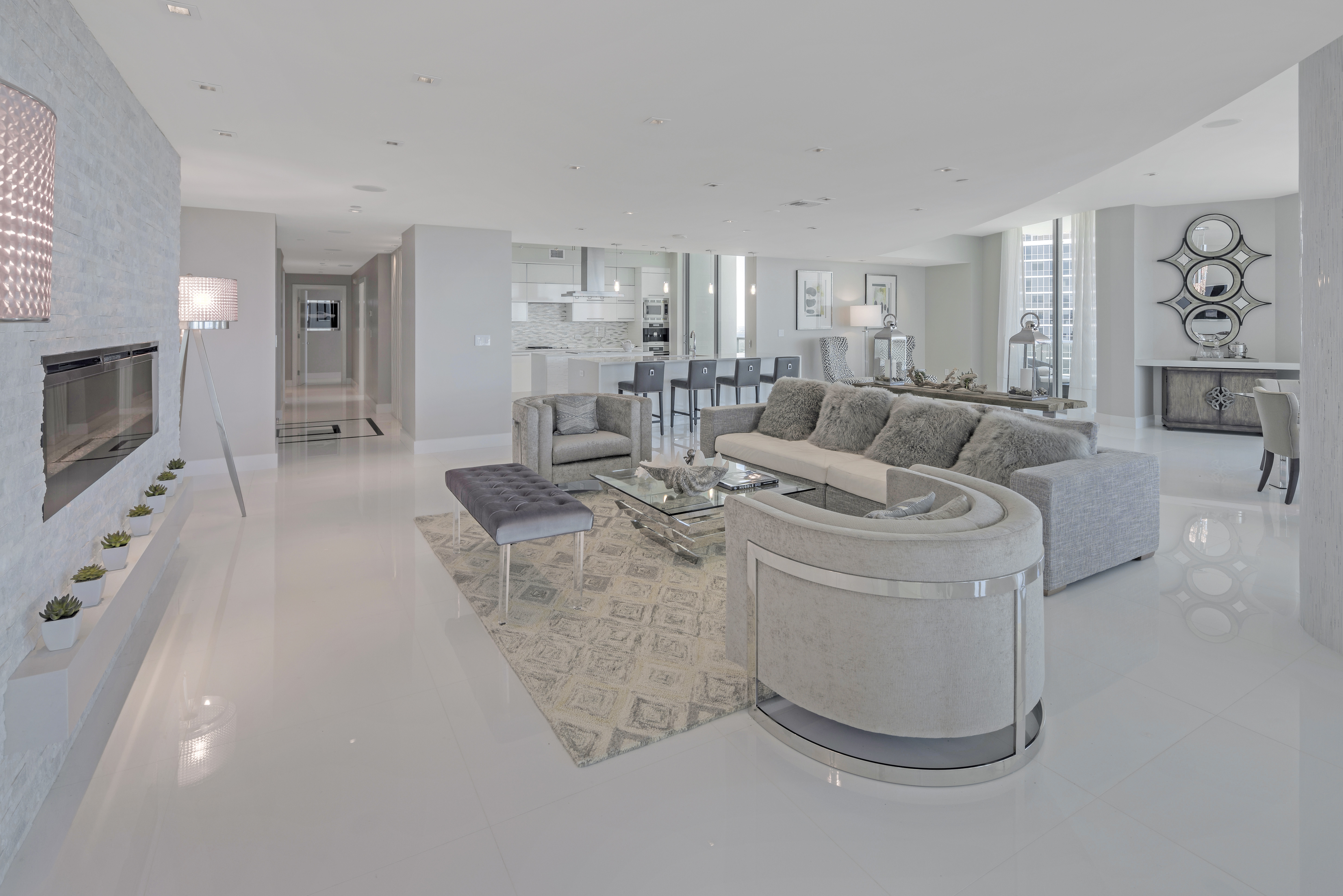 900 Biscayne Bay Penthouse 6307 Great Room